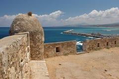 Iraklio-Hafen, Kreta Griechenland Lizenzfreies Stockfoto
