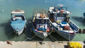 Iraklion port Royaltyfri Foto