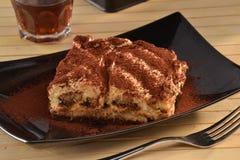 Iramisu cake dessert Stock Photo