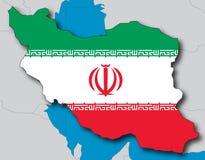 Iran stock illustratie