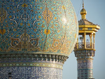 Iran. Fatimah Al-Masumeh Shrine in Qom, Iran Royalty Free Stock Image