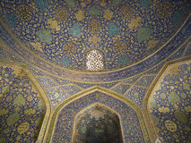 Iran. In the Shah Mosque in Isfahan, Iran Stock Photos
