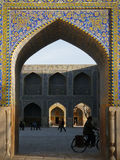 Iran. Shah Mosque in Isfahan, Iran Royalty Free Stock Photos