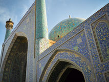 Iran. Shah Mosque in Isfahan, Iran Stock Photography