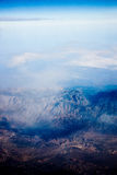 Iran aerial topography Royalty Free Stock Image