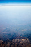 Iran aerial topography Royalty Free Stock Photography