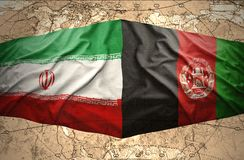 Iran and Afghanistan Royalty Free Stock Images