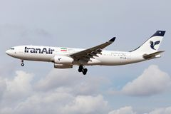 Iran Air Airbus A330-200 photos stock