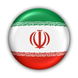 Iran bandery Zdjęcie Royalty Free
