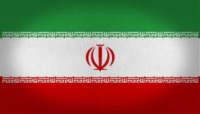 Iran bandery Fotografia Stock