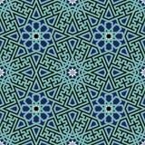 Iran Complex Seamless Pattern Stock Photos
