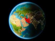 Iran in de avond Royalty-vrije Stock Afbeeldingen