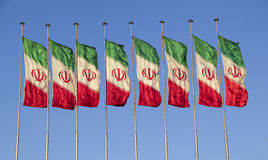 Iran flag Royalty Free Stock Images