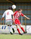 iran fotbolllag USA vs ungdom Arkivfoton