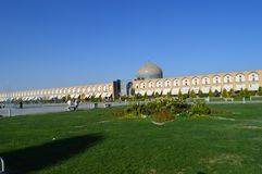 Iran.Imam Square is Located in the center of Isfahan. royalty free stock images