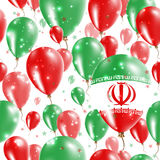 Iran Independence Day Seamless Pattern. Stock Photo