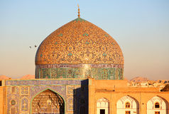 iran isfahan moské Royaltyfri Foto