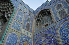 iran moské Royaltyfri Foto