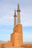 iran moskéyazd royaltyfria bilder