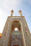 iran moskéyazd arkivfoto