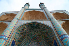 Iran Mosque Royalty Free Stock Photo