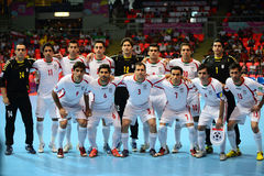 Iran national futsal team Royalty Free Stock Images