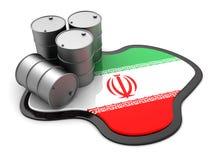 Iran oil Stock Image