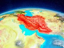 Iran på jord Royaltyfri Foto