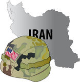 Iran war Royalty Free Stock Photo
