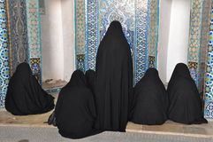 Iran woman Stock Images