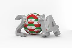 Iran world cup 2014 Stock Images