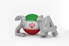Iran world cup 2014 Royalty Free Stock Photography