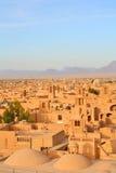 iran yazd royaltyfria bilder