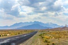 Iran Zagros bergområde royaltyfria foton