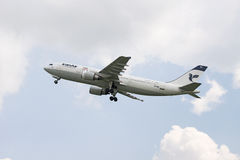 Iranair flygbuss a300 Fotografering för Bildbyråer