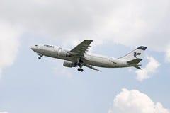 Iranairluchtbus a300 stock afbeelding