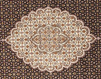 Persian carpet. Iranian carpets and rugs in a nice design Royalty Free Stock Photo
