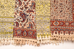 Iranian carpets and rugs Stock Photo