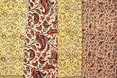 Iranian carpets and rugs Royalty Free Stock Photo