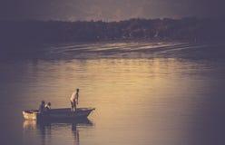 Iranian fisherman Royalty Free Stock Image