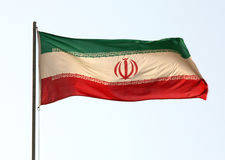 Iranian flag Royalty Free Stock Photos