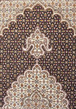 Persian carpet. Iranian handmade carpets and rugs in a nice design Stock Image