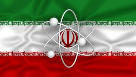 Iranian nuclear program Royalty Free Stock Images