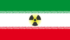 Iranian nuclear threat Royalty Free Stock Photography
