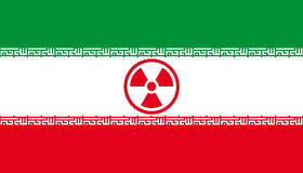 Iranian nuclear threat Royalty Free Stock Photo