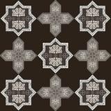 Iranian pattern 60 Royalty Free Stock Image