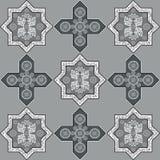 Iranian pattern 56 Stock Photo