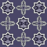 Iranian pattern 57 Royalty Free Stock Photo