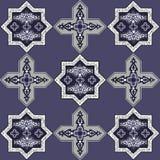 Iranian pattern 57 Royalty Free Stock Photo