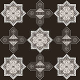 Iranian pattern 58 Royalty Free Stock Photography